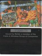 BARBADES 87CBDA CARAÏBES  EC$20 CARNAVAL 1995 TIRAGE 19100 - Barbados
