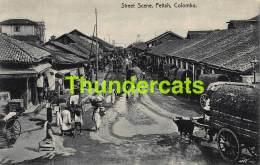 CPA SRI LANKA CEYLON CEYLAN STREET SCENE PETTAH COLOMBO - Sri Lanka (Ceylon)