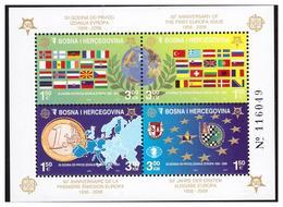 BOSNIA AND HERZEGOVINA 2005 50th Anniversary EUROPA CEPT Ss MNH - Bosnia Erzegovina