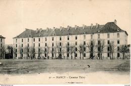 54. Nancy. Caserne Thiry. Pliure Centrale - Nancy