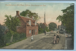 THE OLD POST OFFICE, SOUTHCHURCH Posted 1910 [Ref.086] - Southend, Westcliff & Leigh