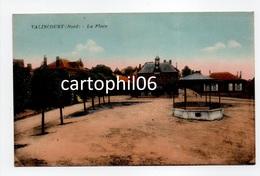 - CPA VALINCOURT (Walincourt / 59) - La Place - Edition G. Réant - - Altri Comuni