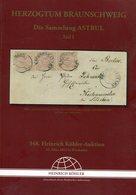 Herzogtum Braunschweig / 2012 / Koehler-Spezialauktionskatalog, 61 Seiten (25102-280) - Catalogues For Auction Houses