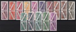 San Marino 1945 Pacchi Postali Sass.PP16/30 **/MNH VF/F - Pacchi Postali