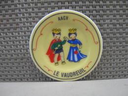 Fève Assiette AACV Le Vaudreuil - Fèves - Rare T Perso - Regions