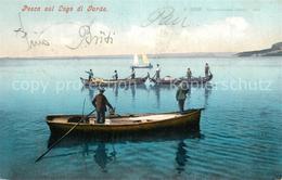 73299138 Lago_di_Garda Fischerboote Lago_di_Garda - Italia
