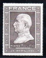 N 606 / 1 Franc 50 + 3 Franc 50 Brun / NEUF ** - France