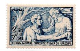 N 498 / 2 Francs 50 + 7 Francs 50 Bleu / NEUF ** - France