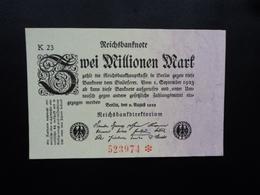 ALLEMAGNE : 2 MILLIONEN MARK   9.8.1923    P 103     SPL+ (A.U.) - 2 Millionen Mark