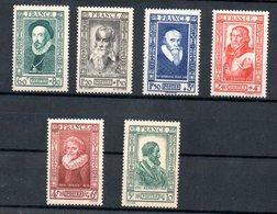 Francs / Série N 587 à 592 / NEUFS ** - France