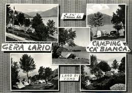 73314694 Gera_Lario Camping Ca Bianca Lago Di Como Campingplatz Comersee Alpen G - Italia