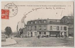 CPA 92 NEUILLY SUR SEINE Coin De L' Avenue De Neuilly Et Du Boulevard Bourdon - Neuilly Sur Seine