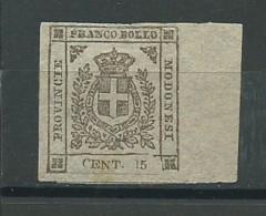 ITALIE-MODENE: (*), N°YT 8, Faux, TB - Modène