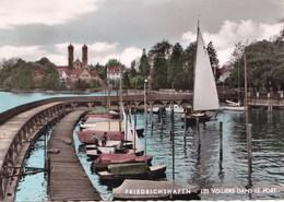 FRIEDRICHSHAFEN LES VOILIERS DANS LE PORT (dil266) - Friedrichshafen