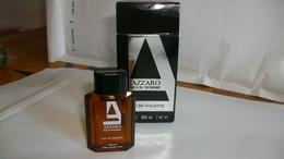 """Miniature De Parfum Azzaro """" Pour Homme   """" Eau De Toilette - Miniatures Modernes (à Partir De 1961)"""