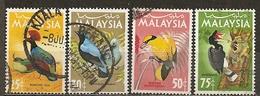 Malaysia 1965 Oiseaux Birds Obl - Malaysia (1964-...)