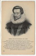 Histoire / ANNE - Duc De JOYEUSE - Mignon De Henri III - Cruel Envers Les Calvinistes ++++ LL, #146 ++++ - Historical Famous People