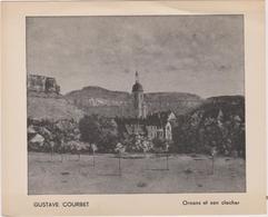 25 Ornans Et Son Clocher  Gustave  Courbet - Altri Comuni