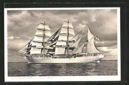 """AK Segelschulschiff """"Gorch Fock"""" Der Kriegsmarine - Krieg"""