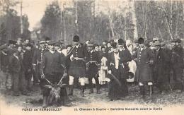 RAMBOUILLET  FORET  CHASSE A COURRE   LA CUREE  DUCHESSE D UZES - Rambouillet