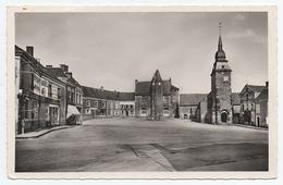 72 BOULOIRE - 7975 - Photo A. Dolbeau - Rue De La Gare. L'Eglise. Courrier 1961 - Bouloire