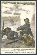 4° Emprunt De La Défense Nationale 1918 - Crédit Commercial De France - Guerra 1914-18
