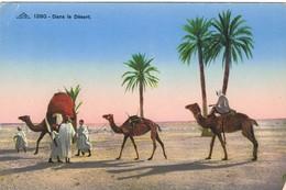 30240. Postal EGYPT, Dromedarios En Desierto - Egipto