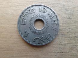 Palestine  10 Mils  1927  Km 4 - Israel