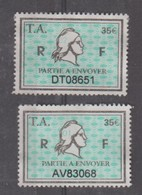 Série Timbres Fiscaux -  2 Timbres Amende Millésime 01 - 02 - Steuermarken
