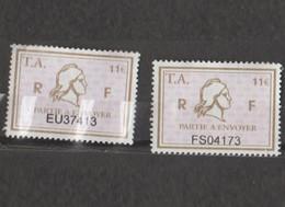 Série Timbres Fiscaux -  2 Timbres Amende Millésime 01 - 02 - Revenue Stamps