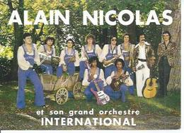 ALAIN NICOLAS ET SON GRAND ORCHESTRE INTERNATIONAL - Artistes