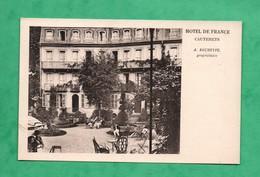 65 Hautes Pyrenées Cauterets Hotel De France - Cauterets