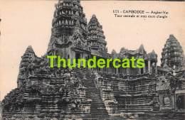CPA CAMBODGE ANGKOR VAT TOUR CENTRALE ET TROIS TOURS D'ANGLE - Cambodge
