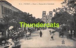 CPA VIETNAM VIET NAM TONKIN HANOI AVENUE DE LA CATHEDRALE - Viêt-Nam