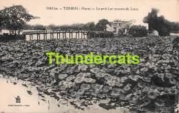 CPA VIETNAM VIET NAM TONKIN  HANOI LE PETIT LAC COUVERT DE LOTUS - Viêt-Nam