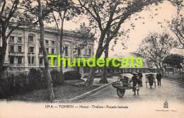 CPA VIETNAM VIET NAM TONKIN  HANOI  THEATRE FACADE LATERALE - Viêt-Nam