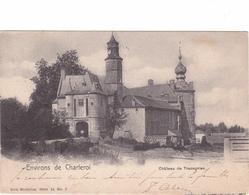 """TRAZEGNIES    ACP écrite En 1901 Nels Série 18 Nr 7  """"Château""""  RARE   Voir Scans - Courcelles"""