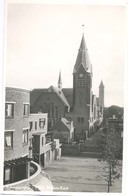Scheveningen, Prins Willem Kerk  (glansfotokaart) - Scheveningen
