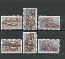 CAMEROUN  Scott C187-C189, C190-C192 Yvert PA202-PA204, PA205-PA207 (6) ** Cote 10,60  $ 1972 - Cameroun (1960-...)