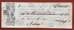 MARCHE DA BOLLO  PER CAMBIALI  0,30 SU CAMBIALE   VERONA 1865 - Azioni & Titoli