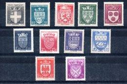 Série N 553 à 564 / NEUFS Avec Taches Sur Gomme - France