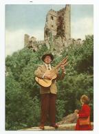 Allemagne Germany  - Le Chanteur Guitare Du Drachenfels - Konigswinter Am Rhein - Koenigswinter