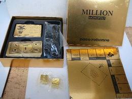 """PACO RABANNE """" MILLION  MONOPOLY""""  BON ETAT ,ECRIT EN ANGLAIS    LIRE ET VOIR!! - Miniaturen Flesjes Dame (met Doos)"""