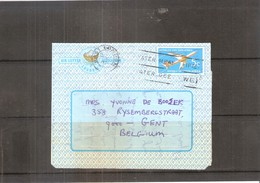 Aerogramme From South Africa To Belgium - 1970 (to See) - Poste Aérienne