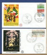 ITALIA - FDC  FILAGRANO 1978 -   COSTITUZIONE - SINDONE - F.D.C.