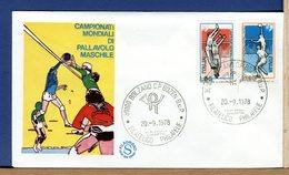 ITALIA - FDC  FILAGRANO 1978 -   PALLAVOLO - F.D.C.