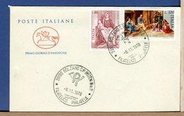 ITALIA - FDC  CAVALLINO  1978 -   NATALE - F.D.C.