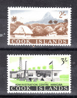 Cook Isl. - 1963. Tipiche Case Isolane. Typical Island Houses. MNH - Geografia