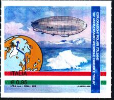 """ITALIA ITALY 2018 ESPLORAZIONI POLARI ITALIANE, 90° ANNIVERSARIO SPEDIZIONE DIRIGIBILE """"ITALIA""""** - Polar Flights"""