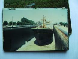 Canada Ontario Welland Canal With Ship - Ontario